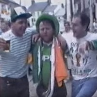 This new footage of Italia '90 celebrations in Arklow town is absolute gold