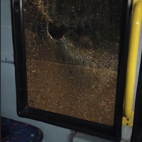 Man sustains facial injuries after youths smash Dublin Bus window with rock