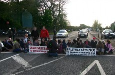 'No to Bondholder Bailout' protesters stop traffic in Cork
