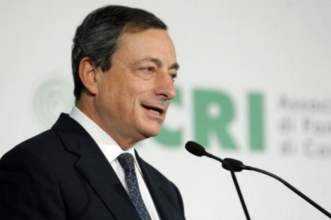 New ECB chief Mario Draghi