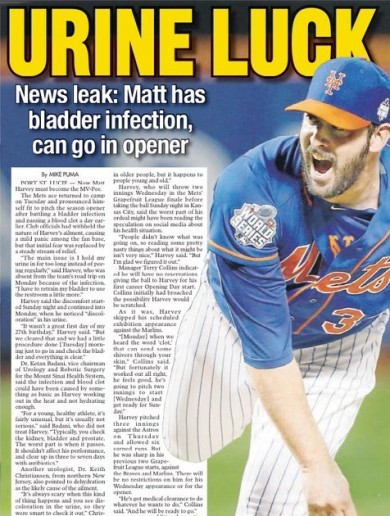 Paper thinks up 7 stunning puns for baseball headline, finds a way to cram in all of them