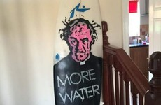 This brilliant Father Jack surfboard was just discovered on Facebook