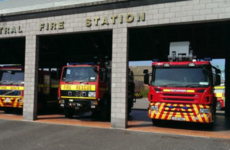 A man has died after a house fire in Co Kildare