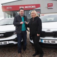 This Donegal woman got a new car with a very patriotic number plate