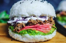 These sushi burgers are taking over Instagram and people are obsessed