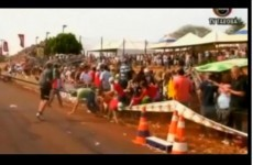 Hundreds injured after grandstand collapses in Brazil