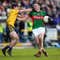 One O'Connor in, the other out as Mayo look to avoid relegation against Down