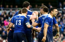 Leinster cling on for tense victory over Munster to move top of Pro12