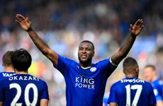 Leicester move seven points clear with six games left after crucial win against the Saints