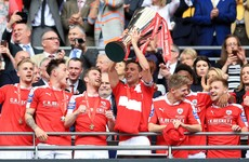 Cork's Conor Hourihane captains Barnsley to cup glory at Wembley