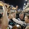 Hamilton involved in first lap collision as Rosberg makes it two from two in Bahrain