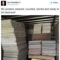 Some people aren't at all happy about this tweet from Leo Varadkar