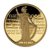 These gold and silver coins with phrases from the Proclamation have been released today