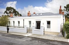 Two for the price of one: this Sandycove home was originally two cottages