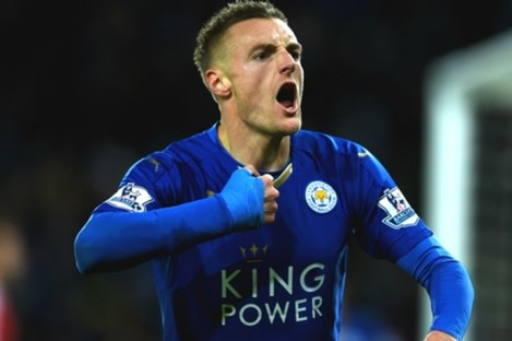 Vardy has been one of Leicester's standout players this season.