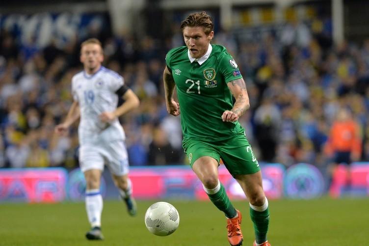 Ireland midfielder Jeff Hendrick.