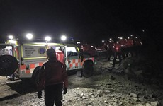 Teenager 'slipping in and out of consciousness' rescued from mountain