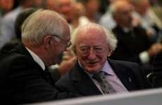 Galway United play their relegation wild card... Michael D. Higgins