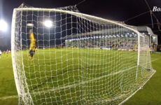 Thankfully there's video footage of Kurtis Byrne's superb hat-trick