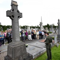 "Glasnevin Cemetery to ""review"" omission of Irish language from famous Pádraig Pearse speech"