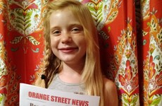 Nine-year-old journalist defends murder coverage after backlash