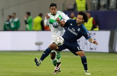 Real Madrid's Marcelo disgraced himself tonight with some pathetic play-acting
