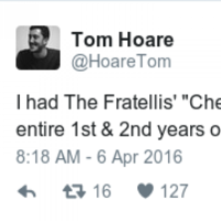 People are sharing their mortifying indie music memories with this hilarious hashtag