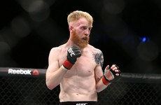 Paddy Holohan booked for return to UFC action for the first time since Dublin defeat