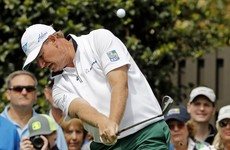 Watch: Ernie Els begins Masters with horror seven-putt for a 10 on first hole