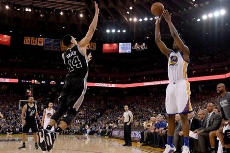 Warriors V Spurs