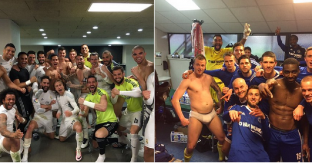 Dutch club take the mickey out of Cristiano Ronaldo with brilliant dressing room photo