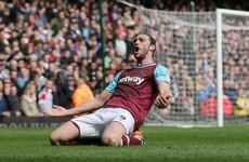 Andy Carroll scores quickfire hat-trick to wipe out Arsenal's lead before Koscielny equaliser