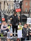 'Blame me' Cameron tells Tories as protesters call for him to go