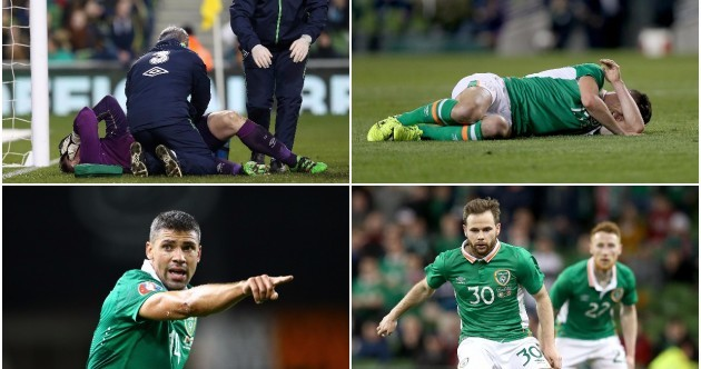 Ireland's injury curse - the 9 players currently sidelined ahead of Euro 2016