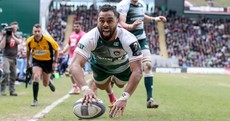 Six-try Leicester power past Stade Francais into the Champions Cup semis