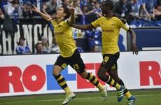 Shinji Kagawa conjured a breathtaking goal but a weakened Dortmund still lost ground on Bayern