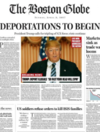 Boston Globe fake front page imagines 'deeply disturbing' Trump presidency