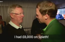 Alex Ferguson to new Masters champ Danny Willett: 'I had £8,000 on Spieth!'