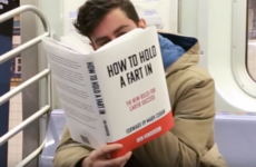 This prankster mortified commuters by reading highly NSFW 'books' on the train