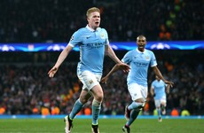 De Bruyne's brilliance confirms Man City's place in the final four of the Champions League