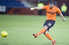 Irish defender leaves Dundee United days after walk-off incident