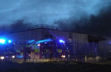 Six DFB units dealing with blaze at industrial estate in Tallaght