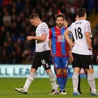 James McCarthy sees red as Joel inspires 10-man Everton to draw