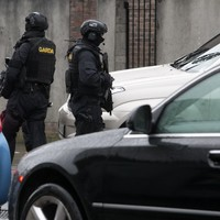 Armed gardaí find bomb in car on the Naas Road