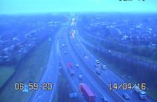 Commuting liveblog: M50 delays and crash on N7