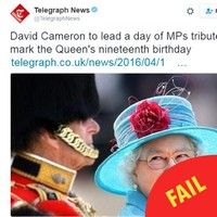 A newspaper just made a mortifying mistake about the Queen's age