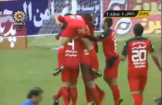 WATCH: The butt-grab celebration that has Iranian authorities in uproar