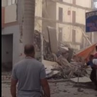 Three injured after apartment building collapses in popular Tenerife tourist resort