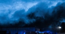 PHOTOS: Dublin Fire Brigade tackled a huge blaze in Tallaght last night