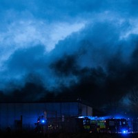 PHOTOS: Dublin Fire Brigade tackled a huge blaze in Tallaght last night